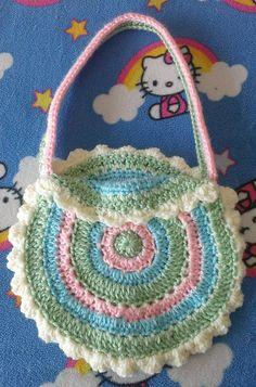 Ravelry: My Girl's Pretty Purse pattern by Melissa's Crochet Patterns