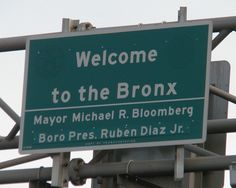 Welcome to the Bronx