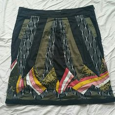 Skunkfunk skirt Colorful skirt with side pockets skunkfunk Skirts