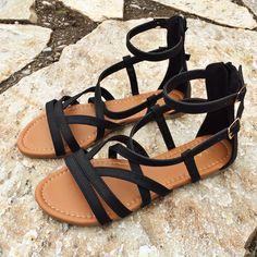 Bristol Sandals (Black)