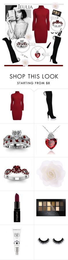 """""""Lady"""" by worldoffashionr ❤ liked on Polyvore featuring Rumour London, Accessorize, Smashbox, Maybelline, NARS Cosmetics, women's clothing, women's fashion, women, female and woman"""