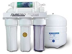 """#PurePro® #EC105 -  Our EC105 comes with a NSF certified 3.2 gallons water storage , USA made membrane and the necessary fittings, kits, extra color 1/4"""" , and a long-reach faucet. Visit : http://www.pureprousa.com/"""