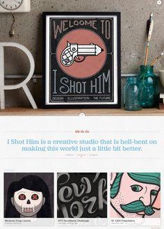 Typography web design