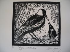 Lino Cut hand Printed Limited Edition