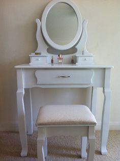 Buy Woodbridge Drawer Dressing Table White At Argoscouk - White dressing table argos