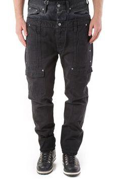 Pantaloni Uomo Absolut Joy (VI-P2528) colore Nero