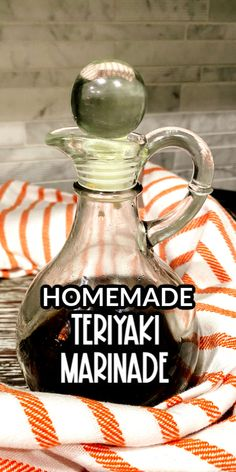 This Best Teriyaki Sauce recipe is a tangy marinade I use for making beef teriyaki and grilled beef skewers. The ingredients all come together in minutes to make a marinade that adds wonderful flavor to the meat. Best Teriyaki Sauce, Teriyaki Marinade, Beef Skewers, Shish Kabobs, Healthy Crockpot Recipes, Cooking Recipes, Sauce Recipes, Pie Recipes, Dessert Recipes