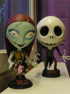 Sally & Jack -bobbleheads (NECA)