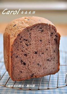 紫米豆奶麵包。麵包機