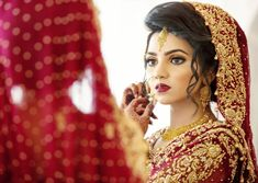 Saima's Weeding Photoshoot ❤️ Bridal Dulhan Makeup, Indian Bridal Makeup, Asian Bridal Dresses, Bridal Outfits, Bridal Poses, Wedding Poses, Wedding Photoshoot, Photoshoot Ideas, Desi Wedding