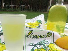 Limoncello. Receta de Limoncello casero: La receta de limoncelo es muy fácil de preparar, y queda riquísima, para compartir después de un buen postre... Wine Glass, Cocktails, Tableware, Recipes, Easy Recipes, Salads, Liqueurs, Beverages, Cheese Platters