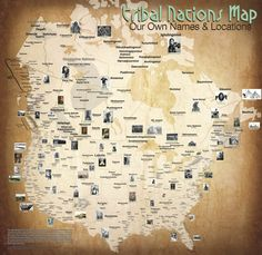 Maps Of Native American Tribes Indian Reservations In The United - Us indian reservation map