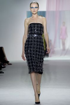 Dior Spring 2013 // red carpet prediction: leighton meester