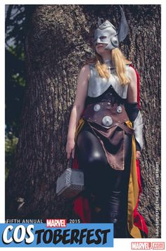 Costoberfest 2015: Little Lioness Cosplay as Thor