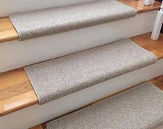 San Marco Café Florian New Zealand Wool!-TRUE Bullnose™ Padded Carpet Stair Tread Runner Replacement Style Comfort & Safety (Sold Each) Brown Carpet, Beige Carpet, Patterned Carpet, Modern Carpet, Staircase Carpet Runner, Carpet Stair Treads, Carpet Stairs, Carpet Manufacturers, Pergola