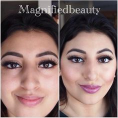 Anastasia contour kit makes a huge difference! By @magnifiedbeauty on Instagram