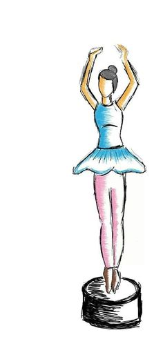 Sribble of the day: BALLET, One of the dance form tht inspires my imagination