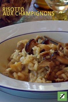 Un délicieux risotto aux champignons facile à réaliser !