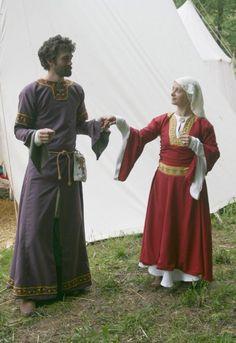 couple noble XIIème (est de la france)