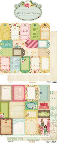 spring tag printables
