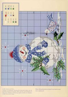 Cute Free Snowman Chart