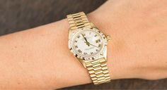 Lady Rolex Presidents | Bob's Watches | #Rolex #LadyPresident #WomensRolex #BobsWatches