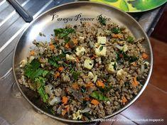 Varagu Paneer Rice [ Kodo millet Paneer Rice ] Millet Bread, Spinach Pancakes, Tiffin Recipe, Millet Recipes, Rich In Protein, Chutney Recipes, Pressure Cooking, Coriander, Fried Rice