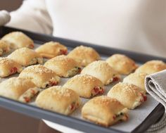 Easy to share - Savory Parmesan Bites.