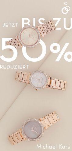 e6794ee4eff4f Stylische Uhren von Michael Kors gibt es jetzt bis zu -50%  günstiger bei