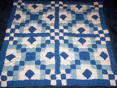 Chains & Diamonds Crochet Quilt ~ free pattern