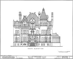 Floorplans for Gilded Age Mansions. - SkyscraperPage Forum elevation