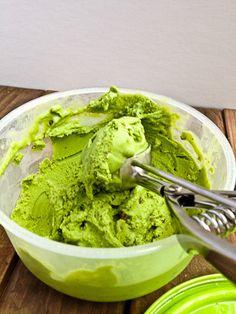 Healthy Chobani mint choc chip ice cream