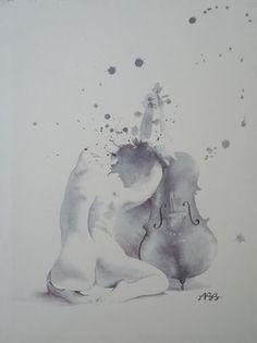 Alexandra Becker-Black, watercolor