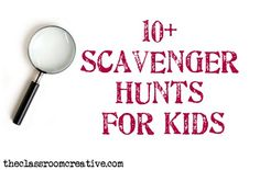 The Great Outdoors: Scavenger Hunt Ideas for Kids