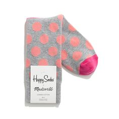 I can't get enough of these! Happy Socks® for Madewell Trouser Socks