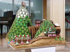E & N Railroad - Canada's National Gingerbread Showcase #gingerb2013 #christmas