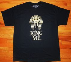 N'Genious Creations - N'GENIOUS CREATIONS EXCLUSIVE KING ME T-SHIRT, $25.00 (http://www.ngeniouscreations.com/ngenious-creations-exclusive-king-me-t-shirt/)
