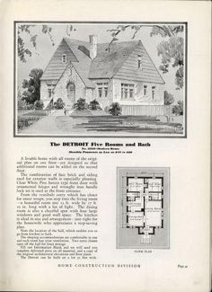 Homes of today : Arched Front Door, Vintage House Plans, Kit Homes, Inspired Homes, Historic Homes, Old Houses, Brick, Vintage World Maps, Windows