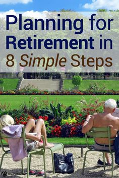Does the idea of planning for retirement overwhelm you? Don't know where to start with building wealth to last a lifetime? This guide shows you where to start and where to go so you can create a simple retirement plan. Preparing For Retirement, Retirement Advice, Retirement Cards, Early Retirement, Retirement Planning, Retirement Accounts, Retirement Investment, Retirement Savings, Investment Tips