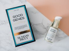 Revue : Good Genes by Sunday Riley Sunday Riley, Good Genes, Bottle, Blog, Beauty, Beleza, Flask, Blogging