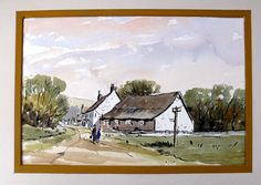 Lets try a pen and wash with Alan Owen---great ideas for sketchbook drawing and painting. Alan's a great teacher.