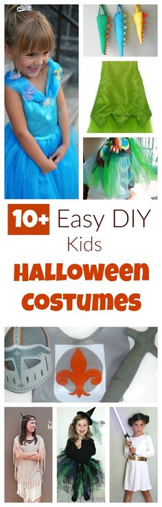 here are 10+ easy but cute homemade costumes to make. And spoiler alert: some of the costumes are so easy you won't even need a pattern! Others include a free pattern (how cool is that!)