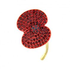 Large crystal Buckley poppy brooch  The Royal British Legion's Online Shop - www.poppyshop.org.uk