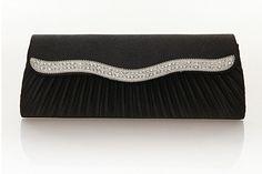 De envío wholesale+free 2012 de moda cuerpo cruz bolsas de mano plisado las mujeres diamante bolso de noche