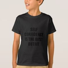 Confidence Outfit T-Shirt - cool gift idea unique present special diy