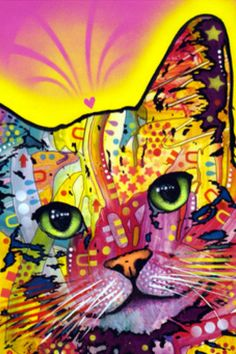 Dean Russo   A cat of many colors