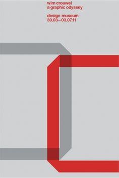 Design Museum Shop: Exhibition Products > Current Exhibitions > Wim Crouwel, A Graphic Odyssey > Wim Crouwel 'C' Portfolio - Set of Five Prints
