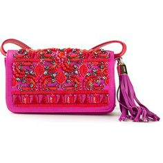 EMILIO PUCCI beaded embroidery shoulder bag