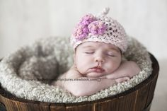 EASY KNITTING PATTERN baby hats  'pixie three by rocketclothing, $5.50