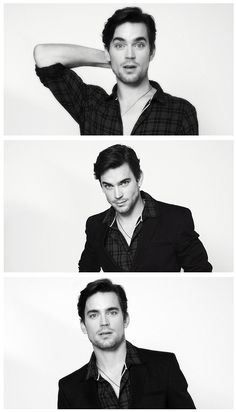 Matt Bomer.... why are the gay ones always cute? AND a great actor
